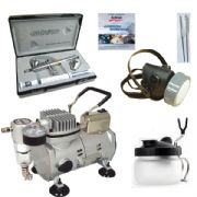 Airbrushing set <br /> Harder and Steenbeck Evolution CRplus 2in1 0.2mm,0.4mm nozzles  & 2ml,5ml paint cups